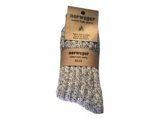 Noorse wintersok grof donker grijs 46/48 2-Pack