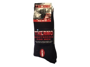 Thermosok BOOT Zwart 46-48 3-Pack