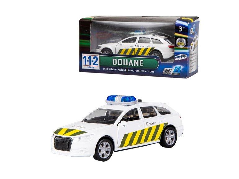Speelgoed 112 Douane Auto 1:43 + Licht/Geluid