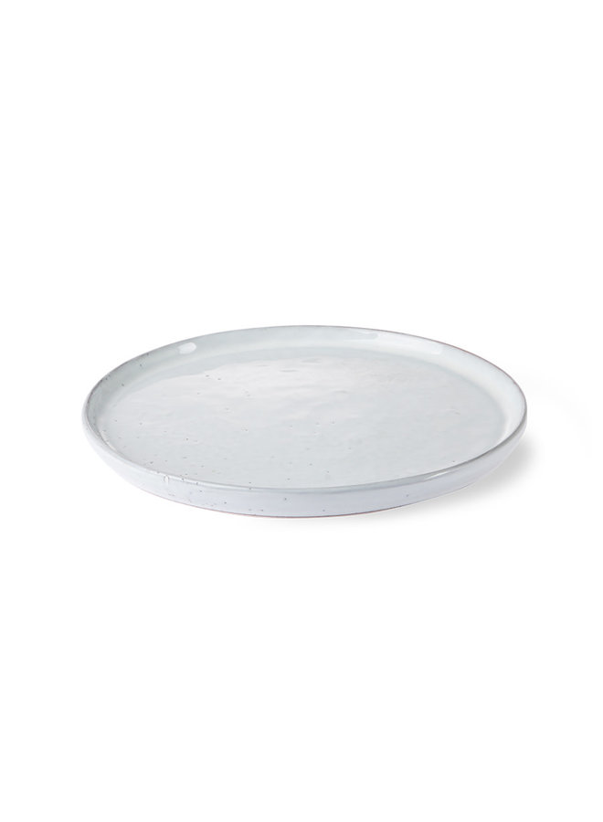 bold & basic ceramics: breakfast plate