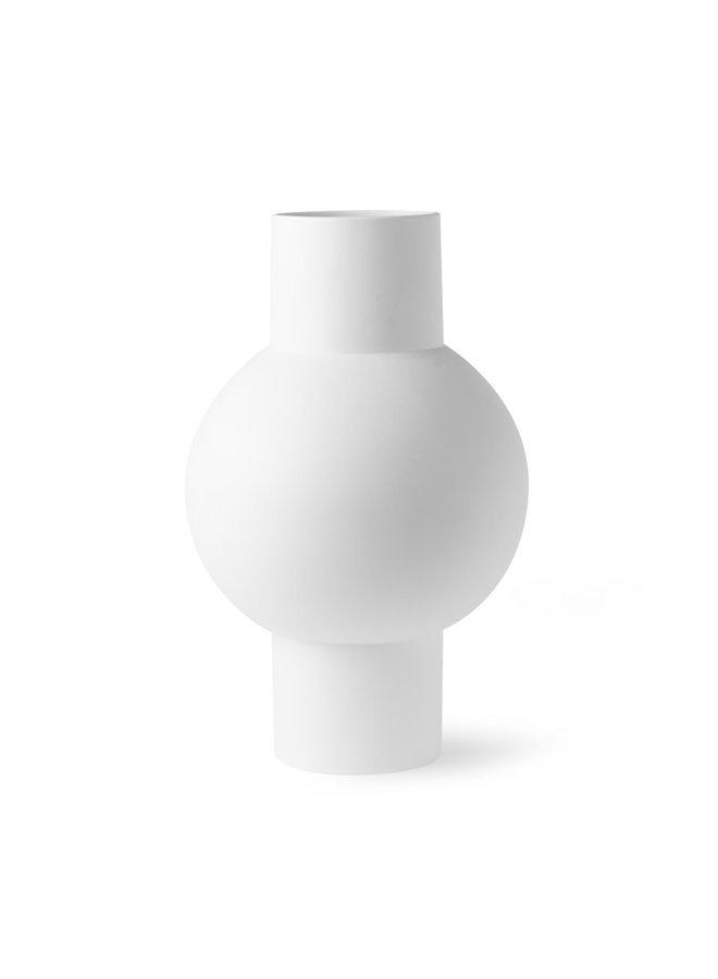 matt white vase M | ACE6808