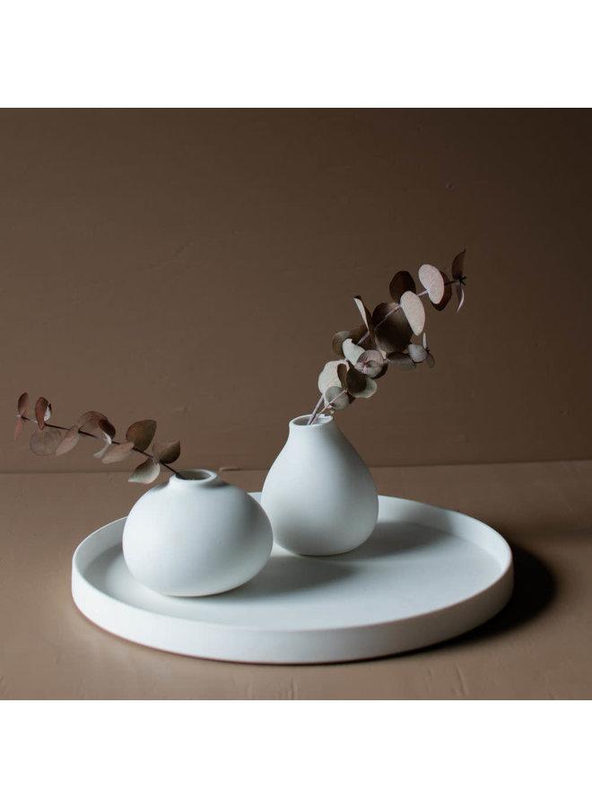 Grimshult ceramic plate white