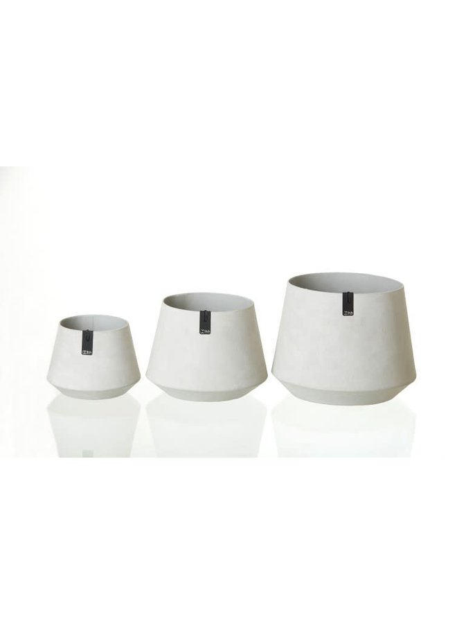 Tokyo Pot schuin, grey M