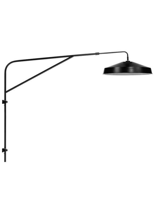 WALL LAMP IRON BRIGHTON BLACK