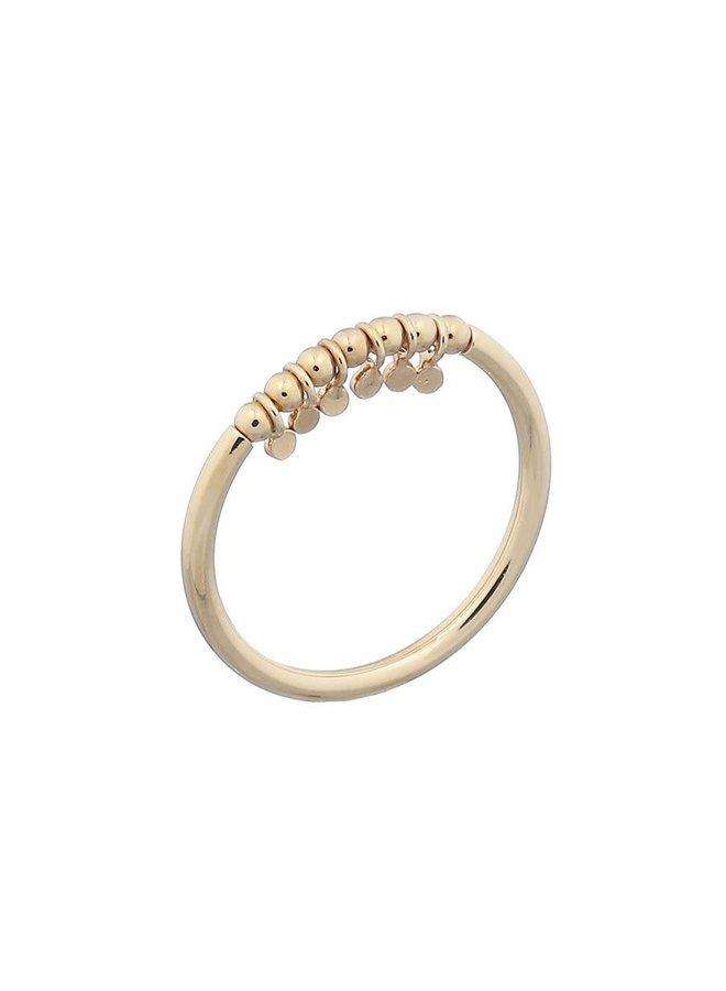 Ring goud bits S/16 mm
