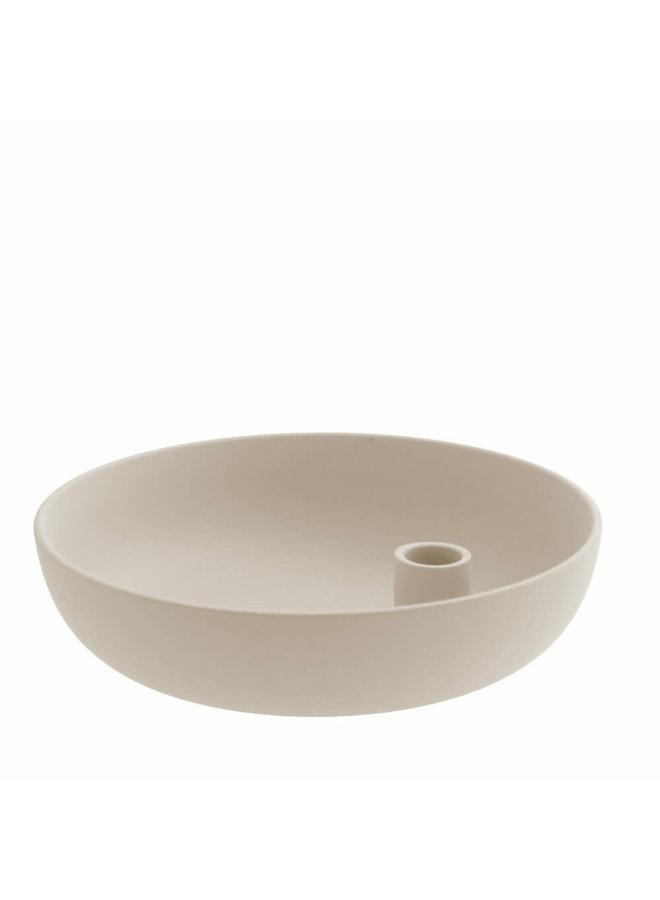 Lidatorp - Candle holder beige large