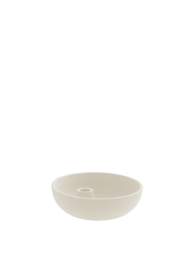 Lidatorp - Candle holder beige small
