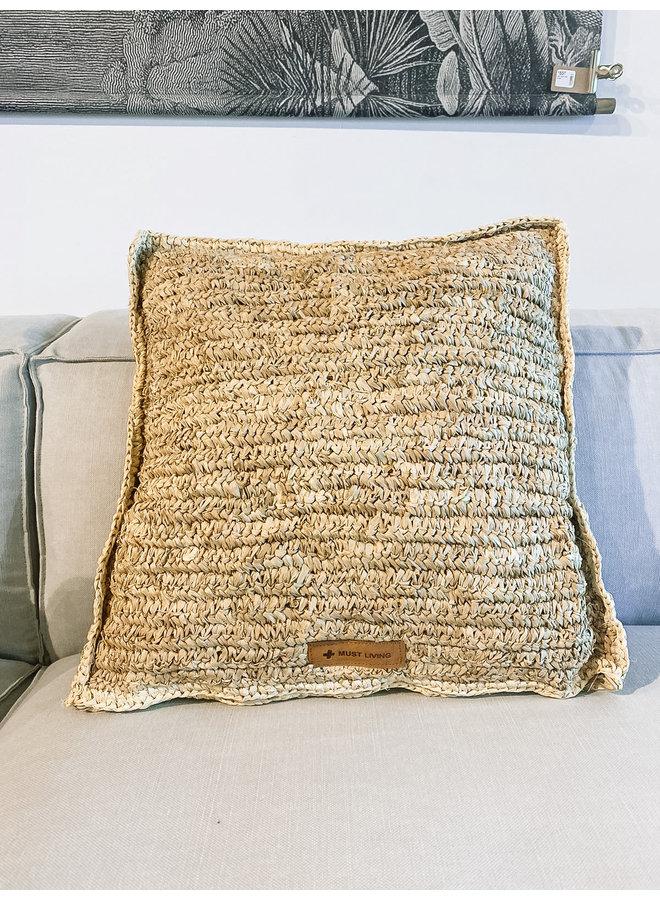 Cushion Avignon square -  50x 50 cm, palmblad