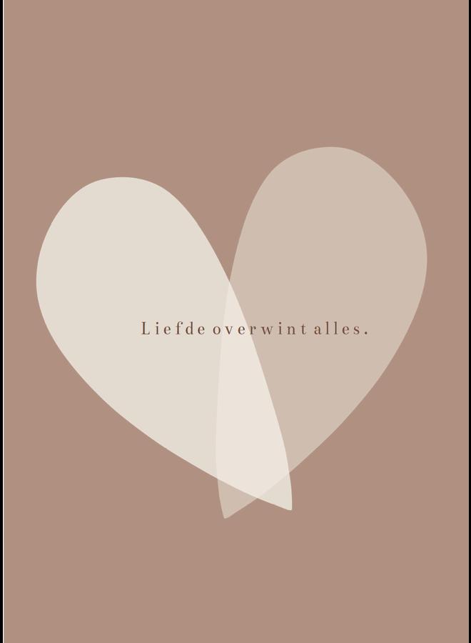 Troostkaart – Liefde overwint alles