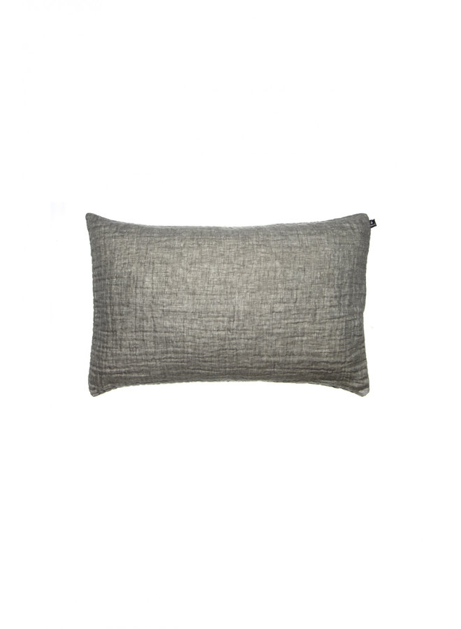 Hannelin cushion charcoal 50x70