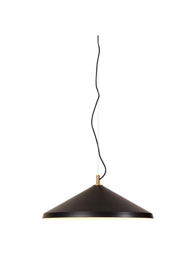 Hanging lamp alu/messing Montreux black MONTREUX/H/B