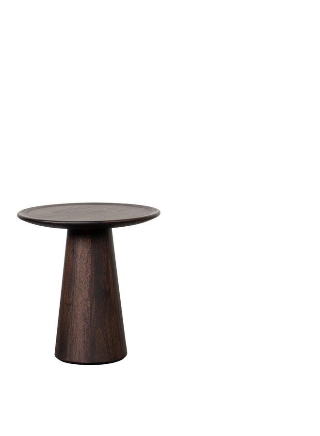 Daytona coffee table walnut Ø 46 x H W-46/D-46/H-51
