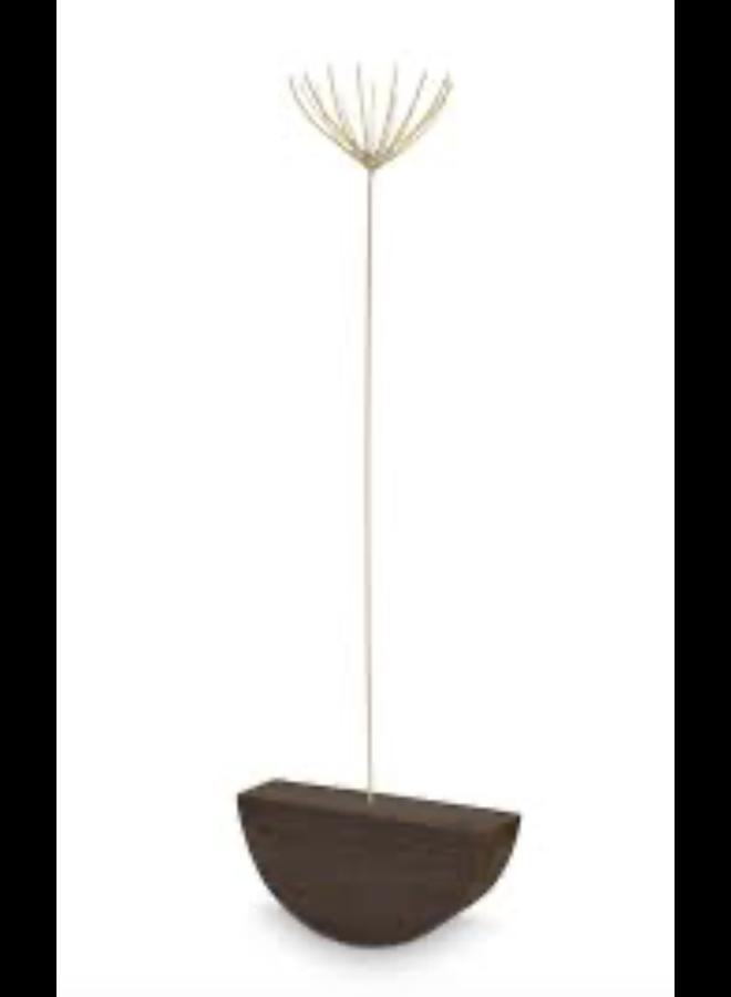 Card/Twig Holder Half Round Wood