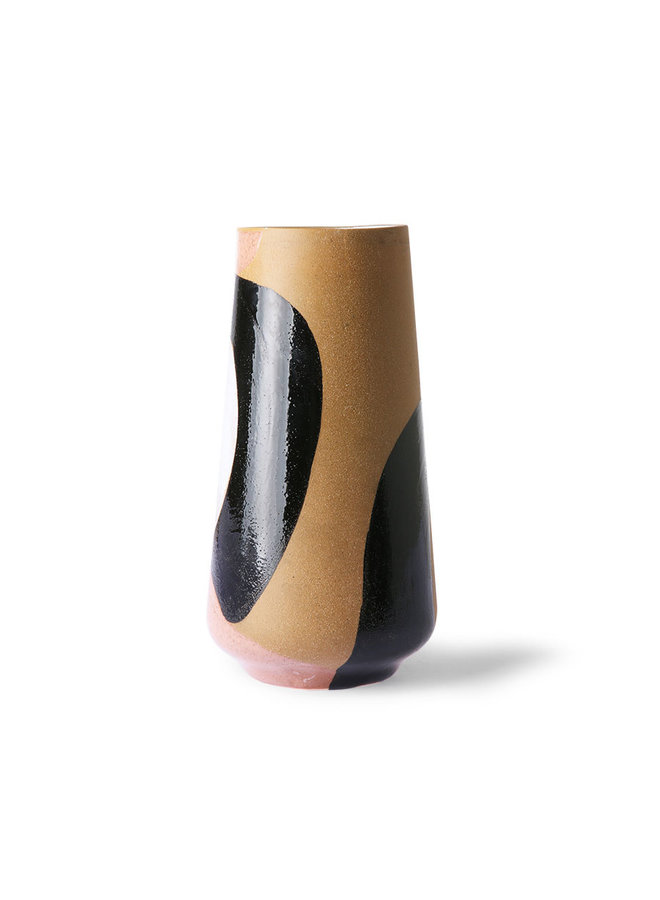 Hand Painted Ceramic Flower Vase