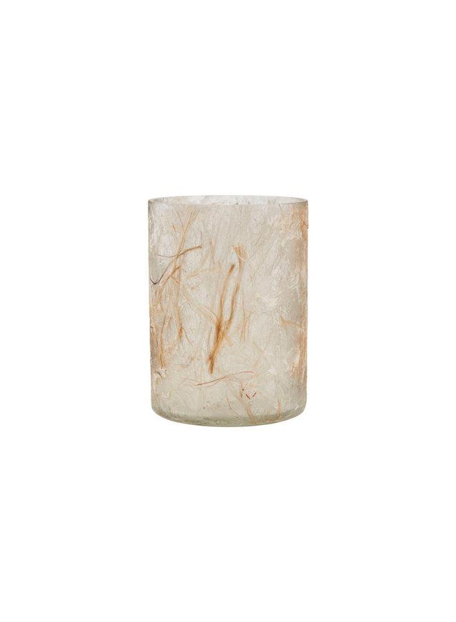 Tealight holder, Raipur, Beige Medium