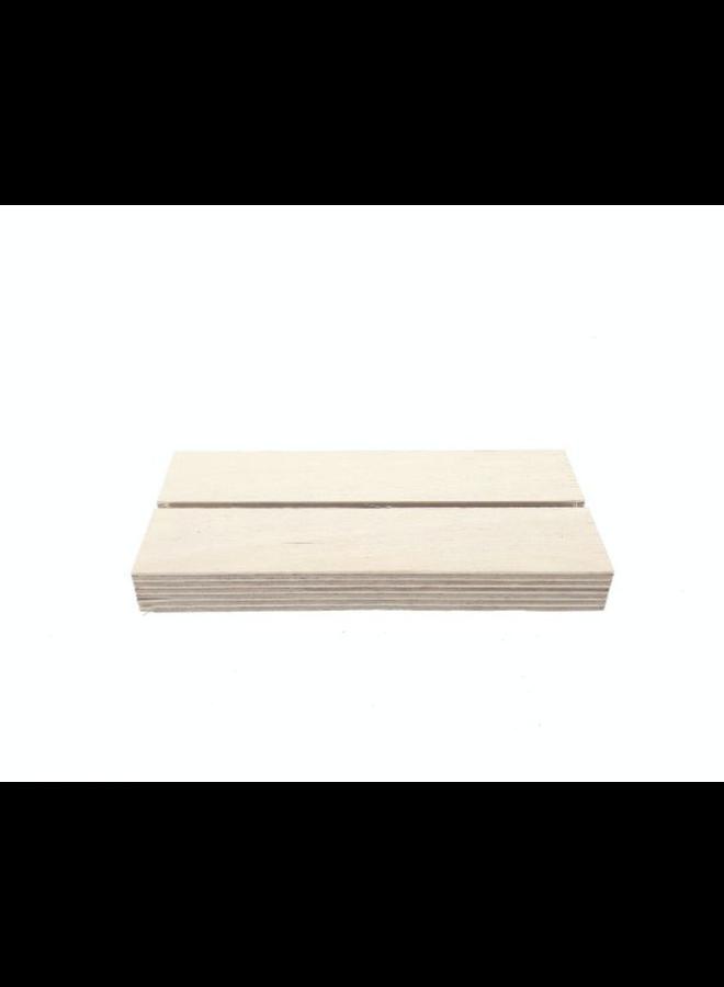 kaarthouder blank 12cm