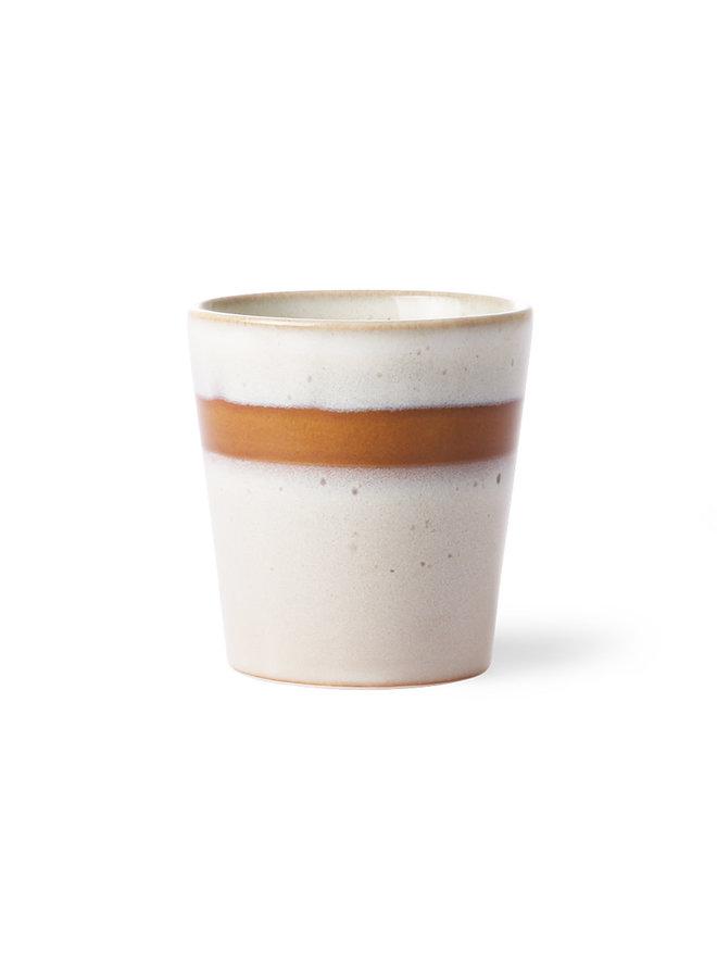 Ceramic 70'S Mug: Snow