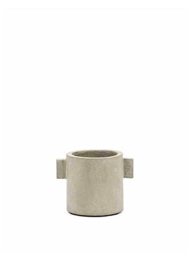Pot beton rond D13 H13 54