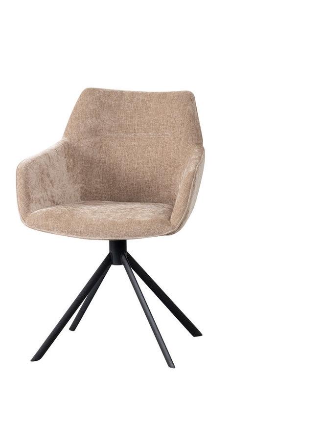 Rotating dining chair in 5 kleuren mogelijk