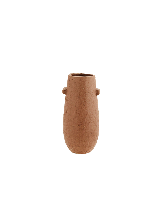 Stoneware vase D:10x19,5 cm