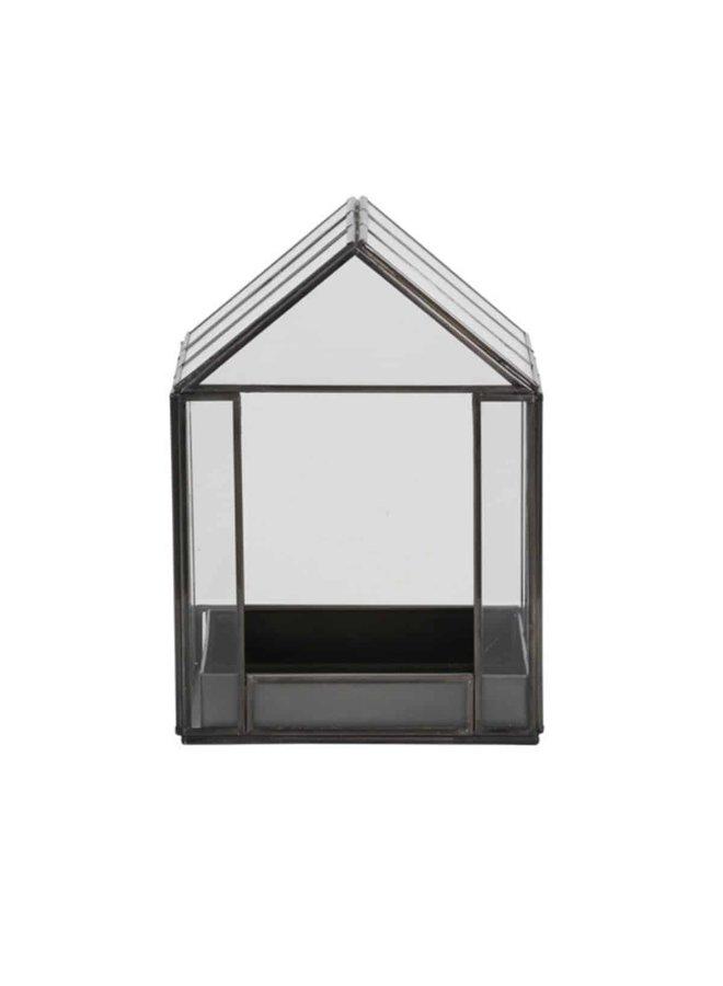 Deco box BEROGY 16 x 16 x 21,5 cm