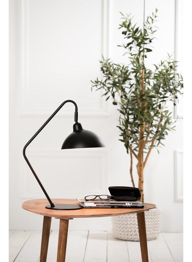 Bureaulamp 36x22x50 cm ORION mat zwart