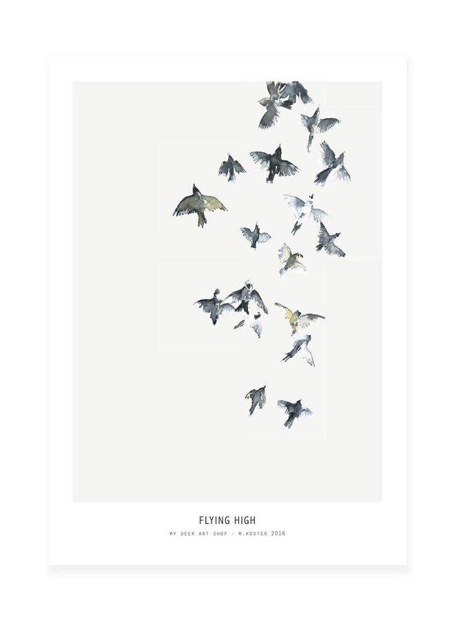 flying high ||| 30x40 cm