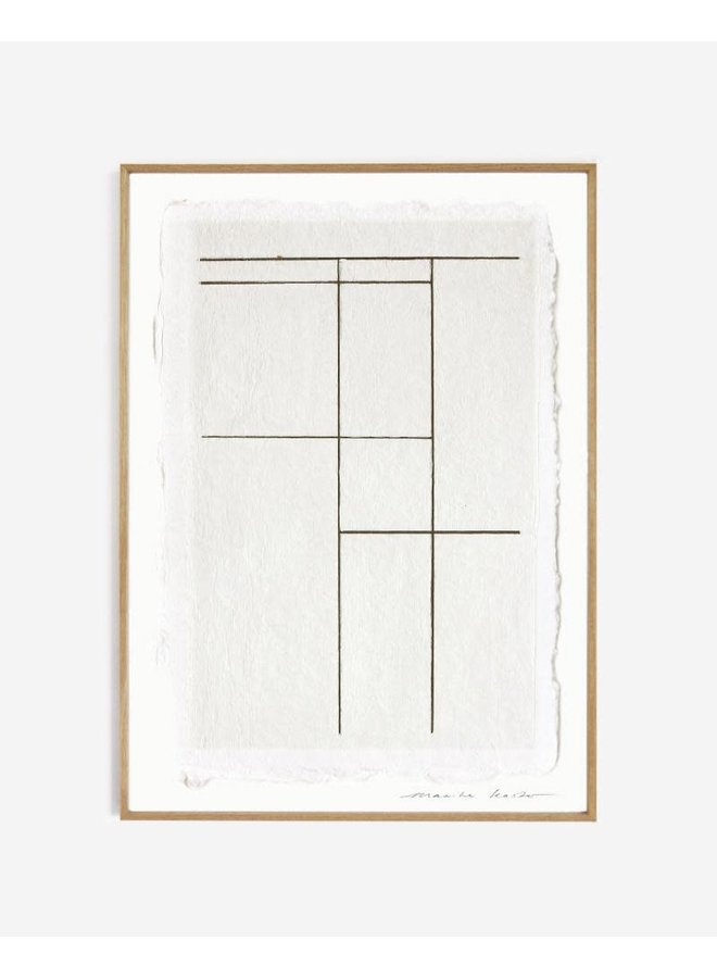 LINES NO.3 ||| 30x40 cm zonder lijst