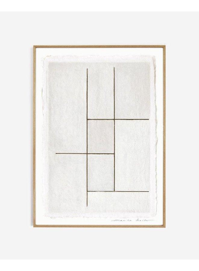 LINES NO 2. || 50 x 70 cm zonder lijst