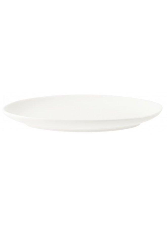 Plate Happy Ivory / White 25.5 cm