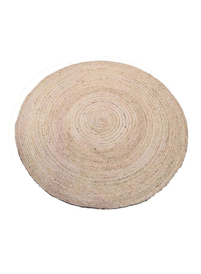 Vloerkleed jute  ø120cm ( meerdere maten beschikbaar )