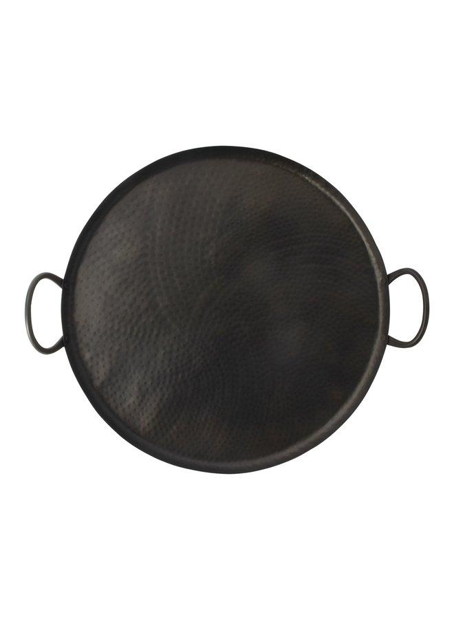 Metalen serveer-en decoplateau 40cm