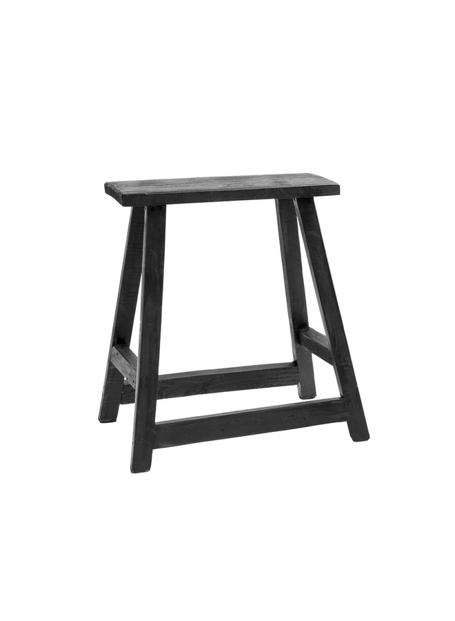 Chinese Rectangle Chair - Black