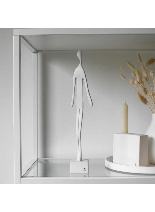 Skulptur White decoration 6 × 6 × 36 cm
