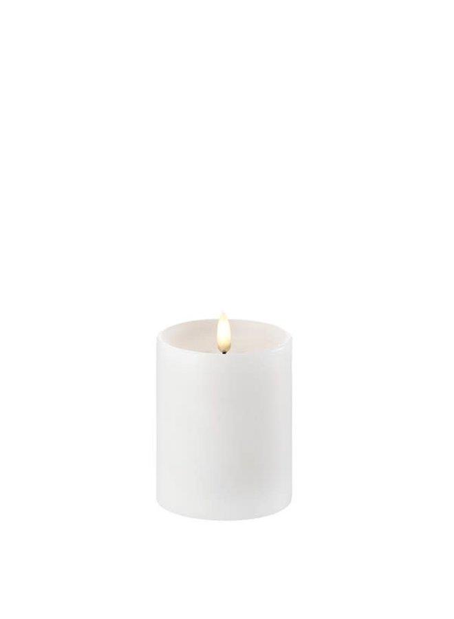 Uyuni Led pillar 7.8x hg 10cm Nordic White  ( C-batteries)