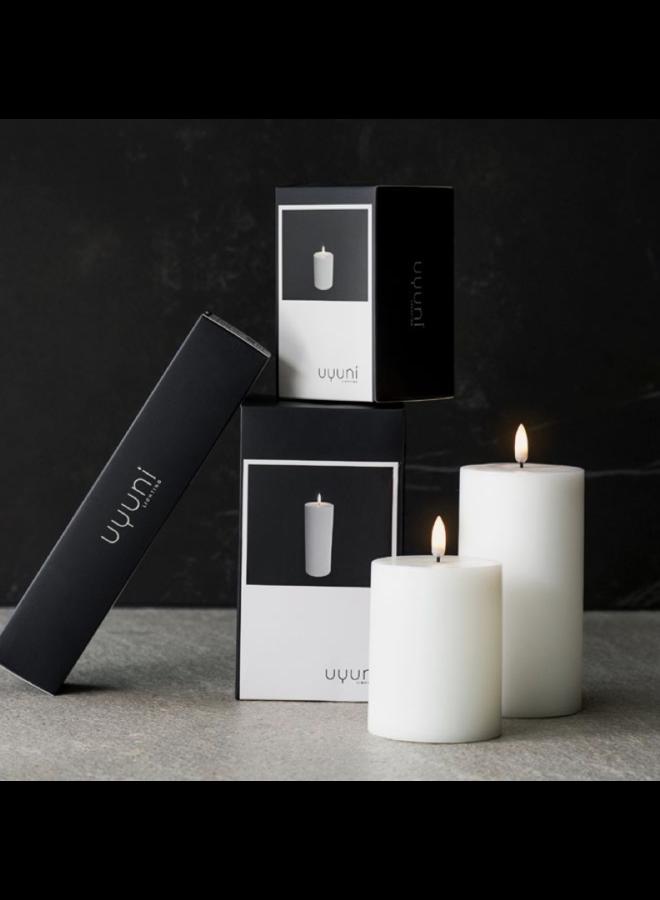 Uyuni Led tea light 6cmxhg 2cm Nordic White ( AA-batteries )
