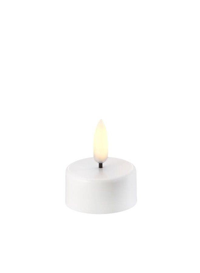 LED TEA-LIGHT- NORDIC WHITE - Ø3,8 x 2 CM - (CR2450)