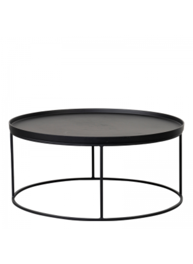 NORTHLAND COFFEE TABLE BLACK L  Ø-88/H-40