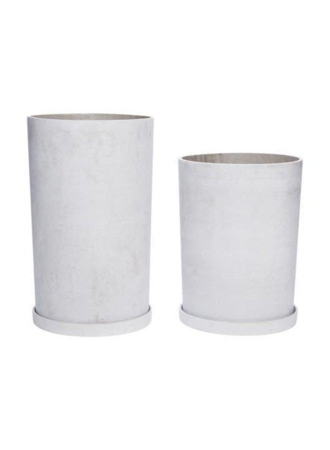 Pot grey 31x41cm