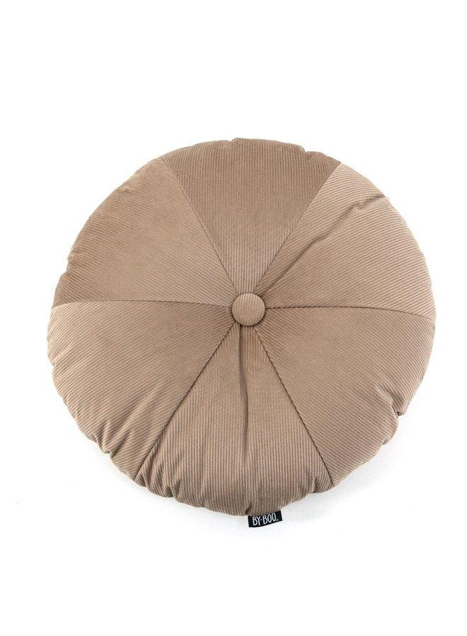 Faith round/kussen 50 cm/beige
