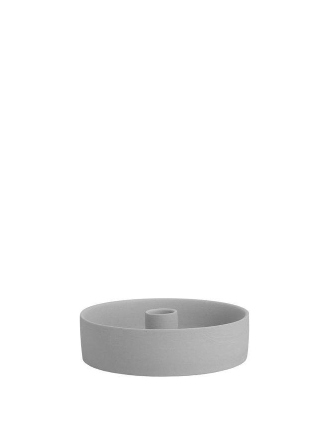 Storm - Light grey lantern/candlestick bottom