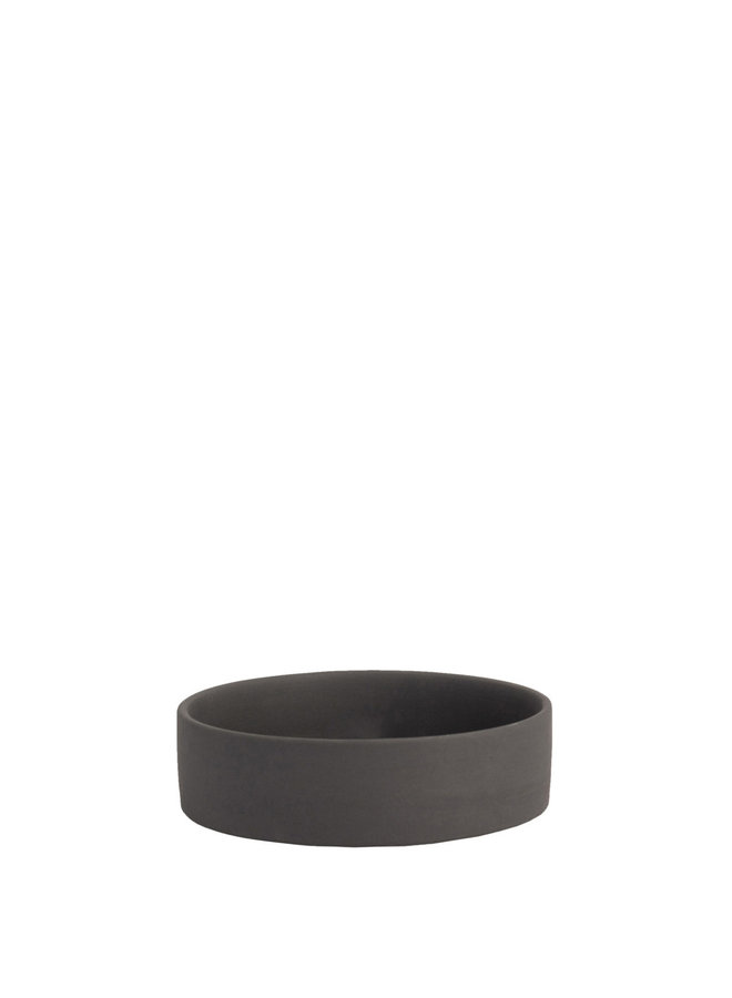 Storm - Dark grey lantern/candle plate bottom