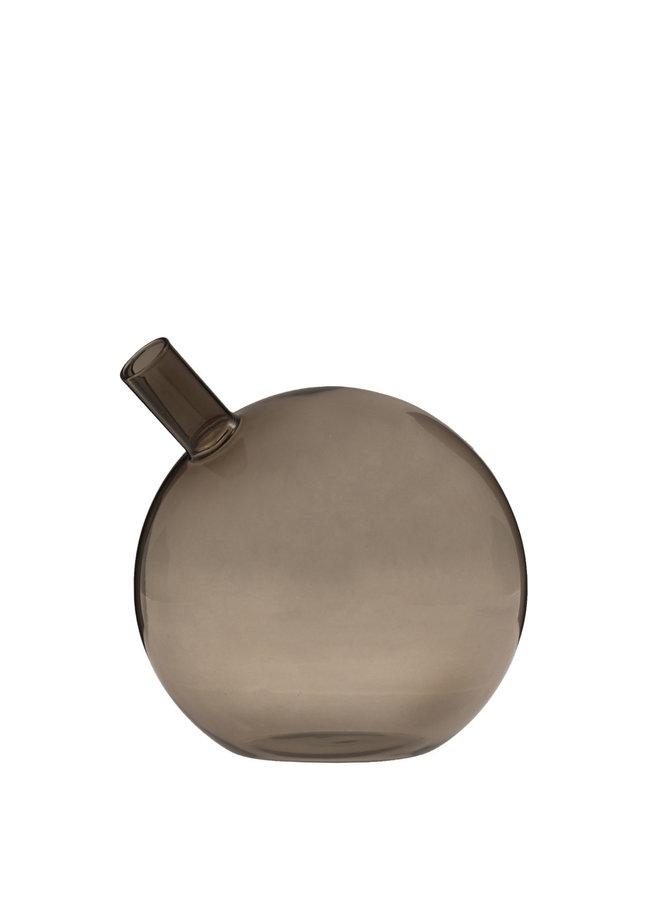 Nyhamn - Large brown glass vase