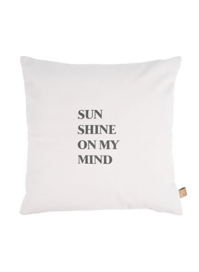 buitenkussen sunshine 45x45cm zand