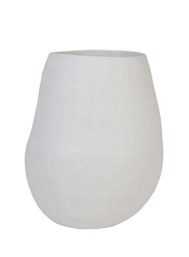 Vaas Ø32x39,5 GIORGIA matt white