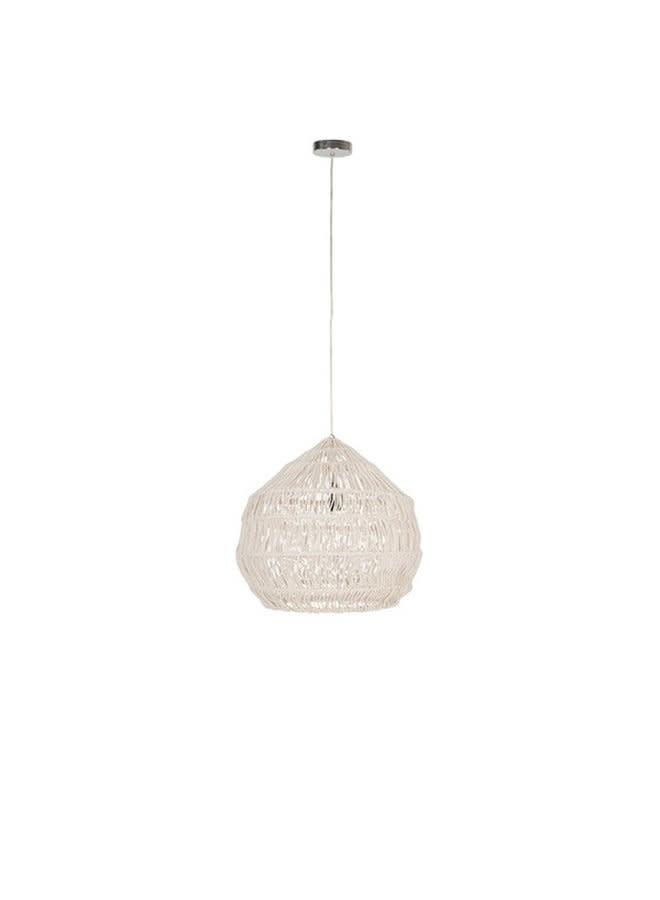 Hanging lamp Macrame bowl - 40xØ50 cm