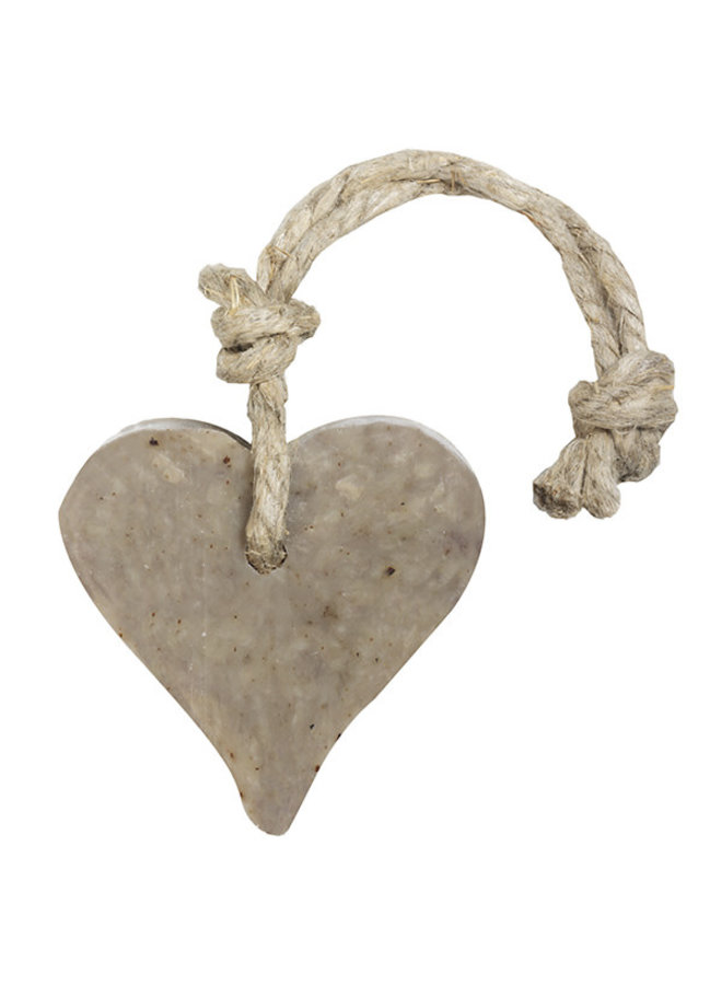 Hanger hart muntblad parfum verbena 55 gram