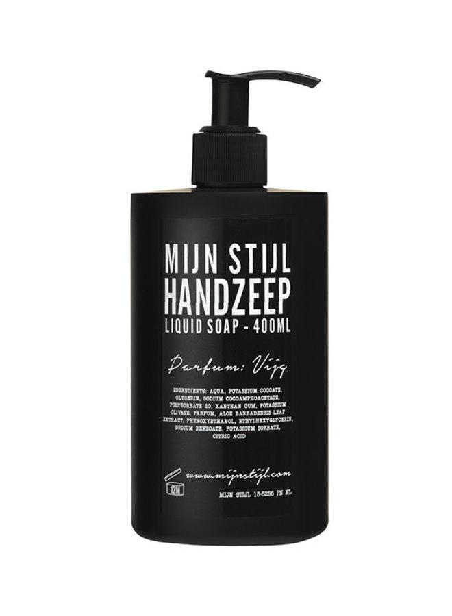 Handzeep parfum vijg 400 ml (zwarte fles)