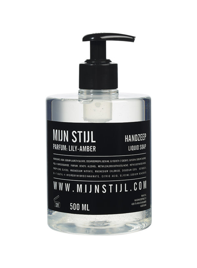 Handzeep 500 ml parfum Lily Amber