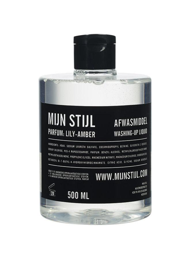 Afwasmiddel 500 ml parfum Lily Amber
